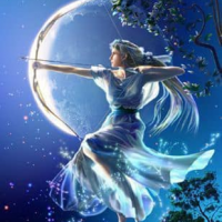 Beth Whitley Zen Zone Ann-Marie Full Moon Goddess Circle January